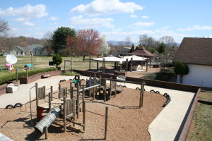 Pre-K Trike Track and Play Area